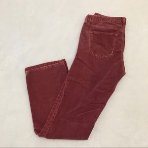 Gap 1969 Pink Boot Cut Corduroy Pants